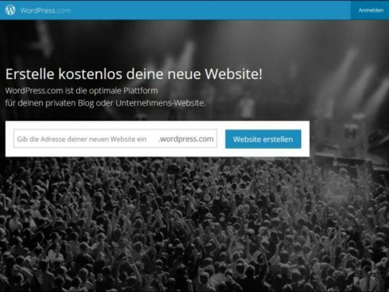 Screenshot Wordpress.de - Foto: Screenshot Wordpress.de