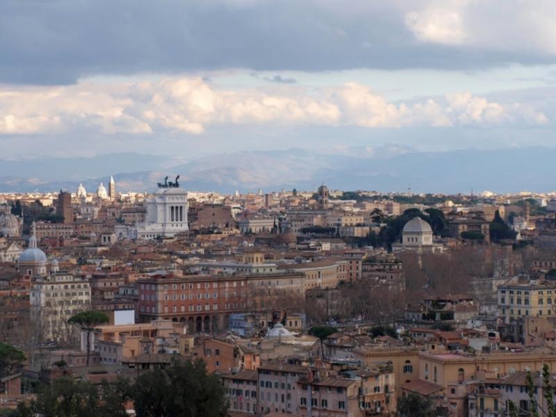 Blick über Rom - Foto: über dts Nachrichtenagentur