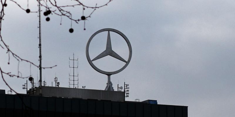 Mercedes-Stern - Foto: über dts Nachrichtenagentur