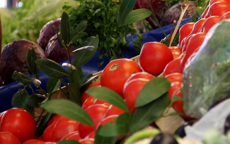 Tomaten an einem Gemüsestand - Foto: über dts Nachrichtenagentur