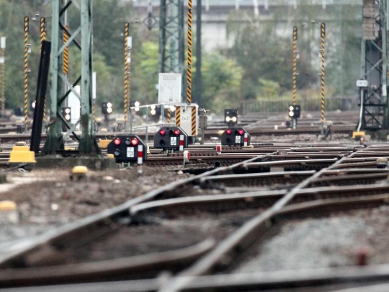 Gleisanlage bei der Bahn - Foto: über dts Nachrichtenagentur