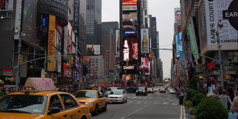 Times Square in New York - Foto: über dts Nachrichtenagentur