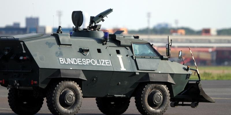 Panzer der Bundespolizei - Foto: über dts Nachrichtenagentur