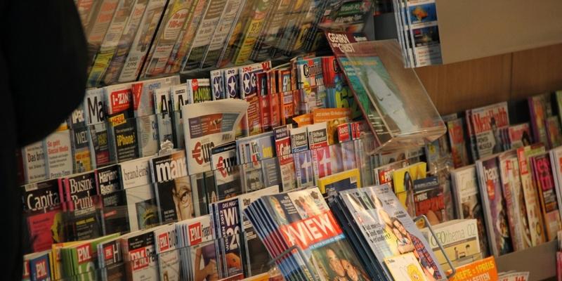 Zeitschriften an einem Kiosk - Foto: über dts Nachrichtenagentur