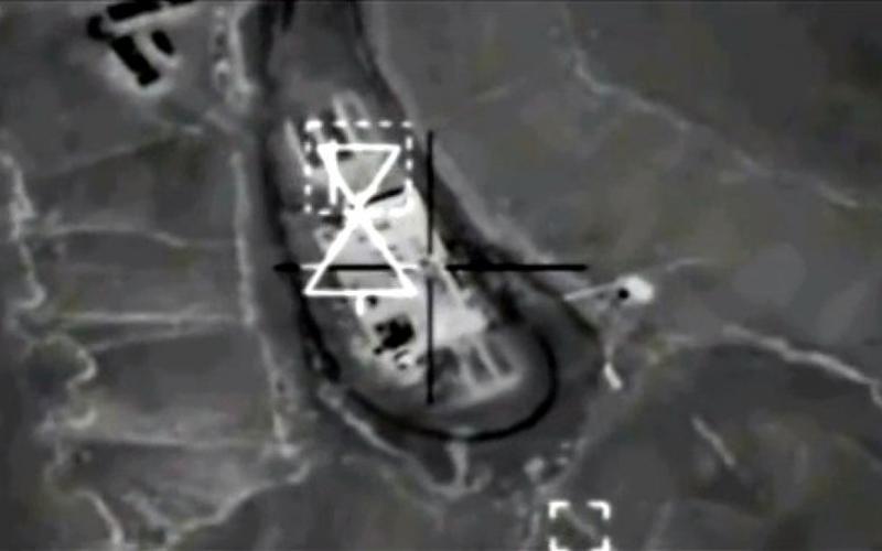 US-Luftangriff auf IS-Stellung in Syrien - Foto: über dts Nachrichtenagentur