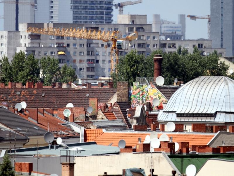 Dächer von Berlin-Kreuzberg - Foto: über dts Nachrichtenagentur