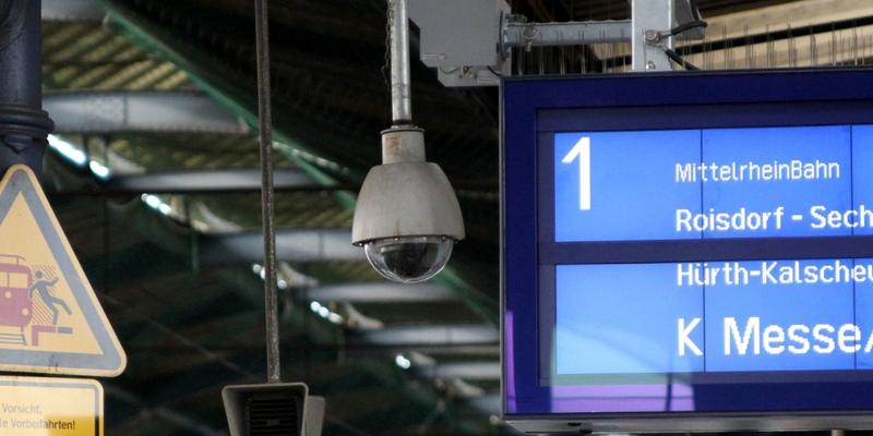 Ãœberwachungskamera am Bonner Hauptbahnhof - Foto: über dts Nachrichtenagentur