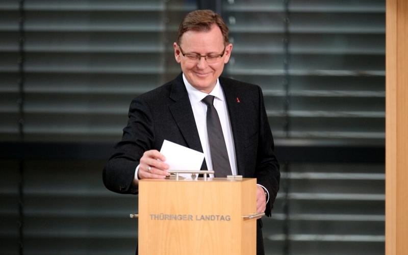 Bodo Ramelow am 05.12.2014 im Erfurter Landtag - Foto: über dts Nachrichtenagentur