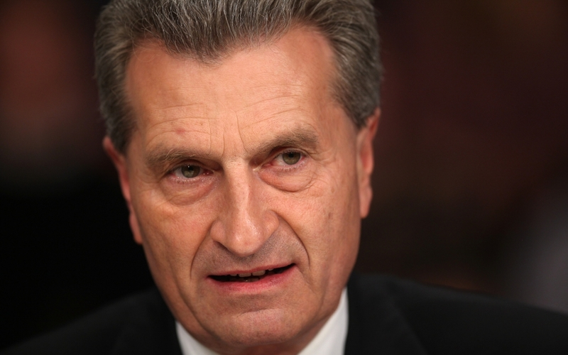 Günther Oettinger - Foto: über dts Nachrichtenagentur