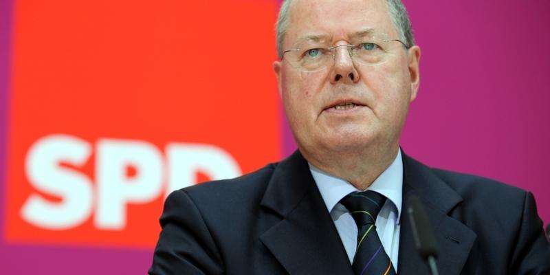 Peer Steinbrück - Foto: über dts Nachrichtenagentur