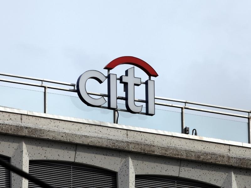 Logo der Citi-Bank - Foto: über dts Nachrichtenagentur
