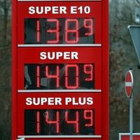 Benzinpreis-Anzeigetafel - Foto: über dts Nachrichtenagentur