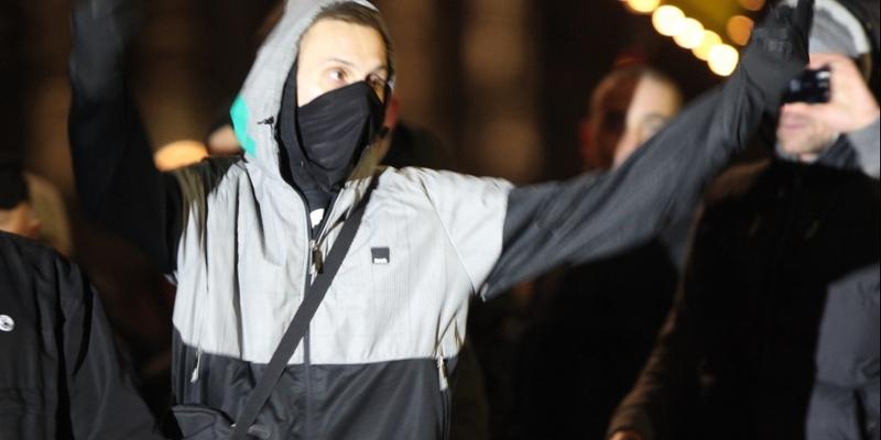 Neonazi bei Legida-Demo - Foto: über dts Nachrichtenagentur