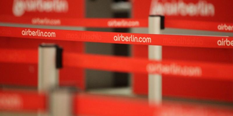 Check-In bei Air Berlin - Foto: über dts Nachrichtenagentur