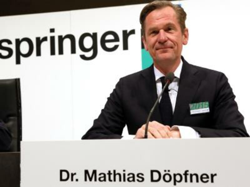 Mathias Döpfner - Foto: Stephanie Pilick