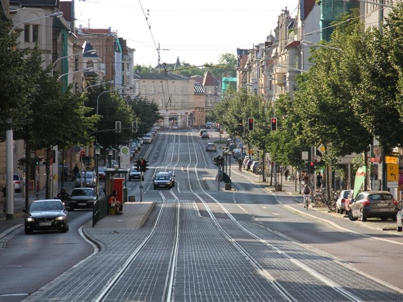 Ludwig-Wucherer-Straße in Halle - Foto: über dts Nachrichtenagentur