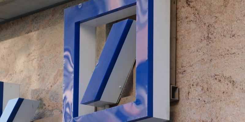 Deutsche Bank-Logo - Foto: über dts Nachrichtenagentur