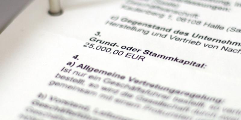 Gewerbeanmeldung einer GmbH - Foto: über dts Nachrichtenagentur