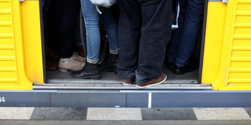 Ãœberfüllte U-Bahn - Foto: über dts Nachrichtenagentur