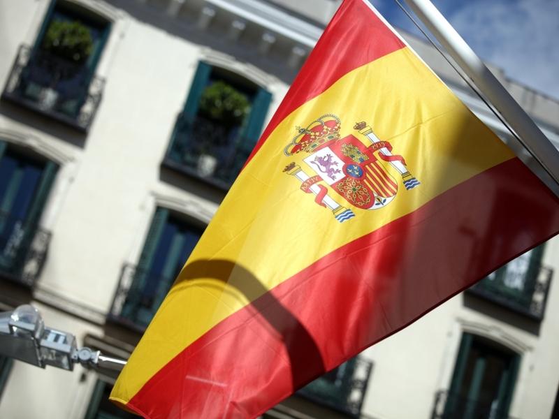 Spanische Fahne - Foto: über dts Nachrichtenagentur