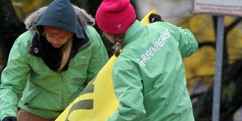 Greenpeace-Protest - Foto: über dts Nachrichtenagentur