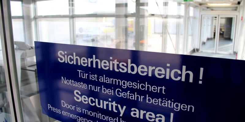 Sicherheitsbereich im Flughafen - Foto: über dts Nachrichtenagentur
