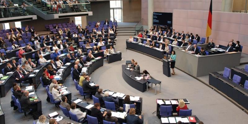 Bundestagssitzung im Plenarsaal des Reichstags - Foto: über dts Nachrichtenagentur