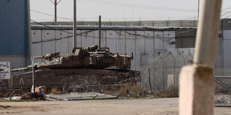 Grenze zum Gazastreifen - Foto: über dts Nachrichtenagentur