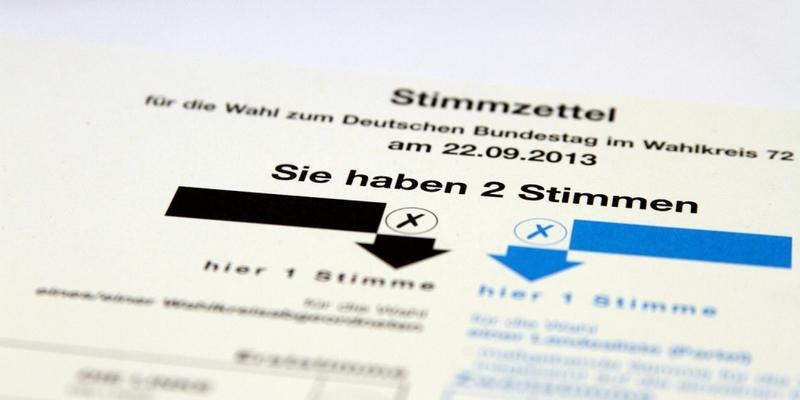Stimmzettel für die Bundestagswahl am 22.09.2013 - Foto: über dts Nachrichtenagentur