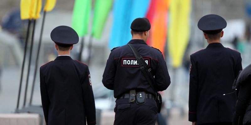 Polizisten in Russland - Foto: über dts Nachrichtenagentur