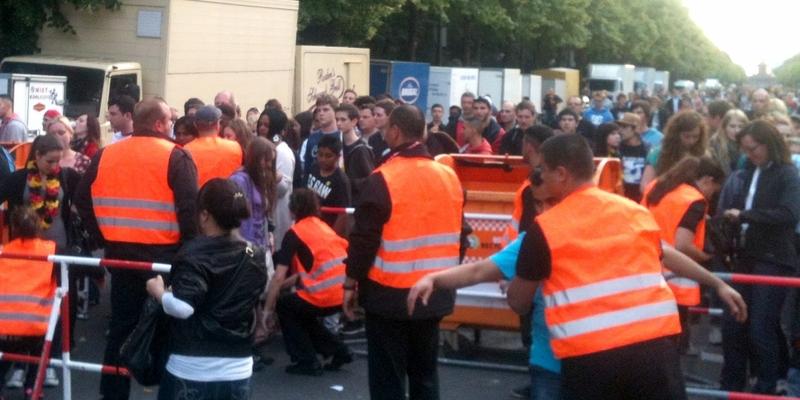 Sicherheitskontrollen auf der Berliner Fanmeile - Foto: über dts Nachrichtenagentur