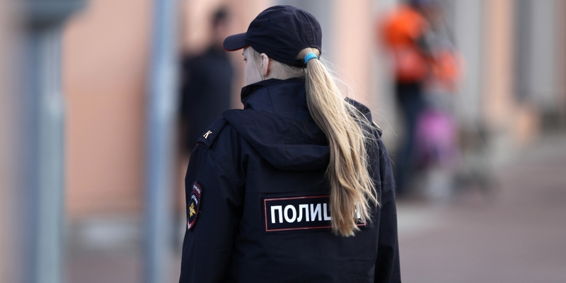 Polizistin in Russland - Foto: über dts Nachrichtenagentur