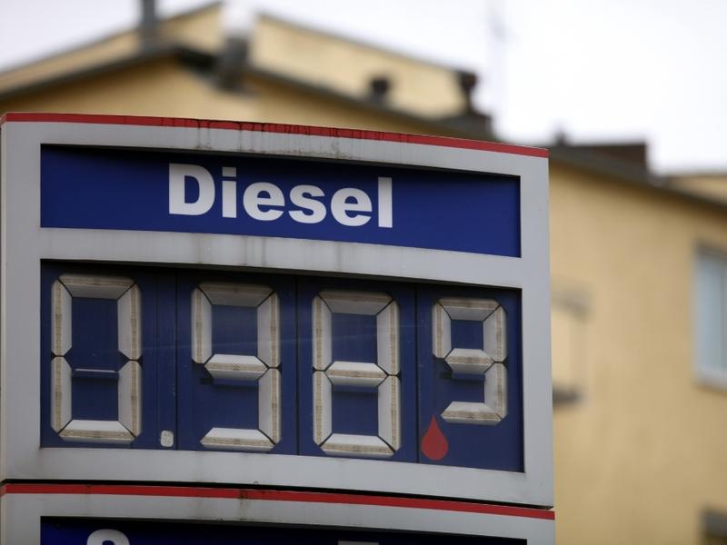 Diesel-Preis an einer Tankstelle - Foto: über dts Nachrichtenagentur