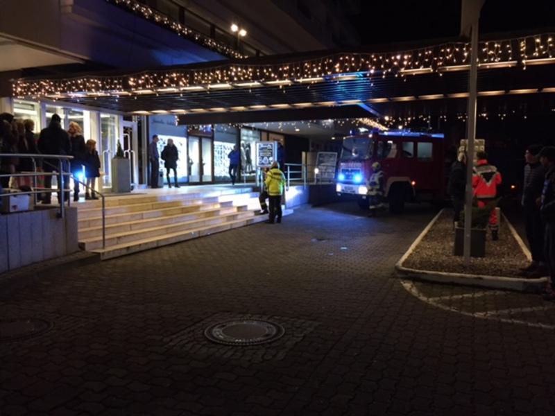 Feuerwehreinsatz Maritim Seehotel Timmendorfer Stand - Foto: R.Müller