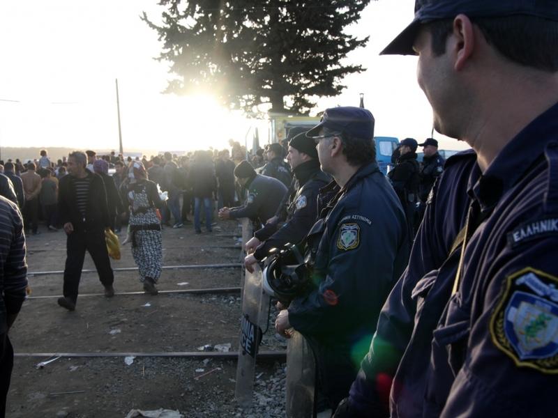 Flüchtlinge in Griechenland - Foto: über dts Nachrichtenagentur