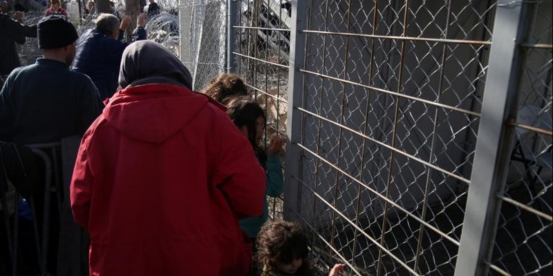 Flüchtlinge an der Grenze Griechenland-Mazedonien - Foto: über dts Nachrichtenagentur
