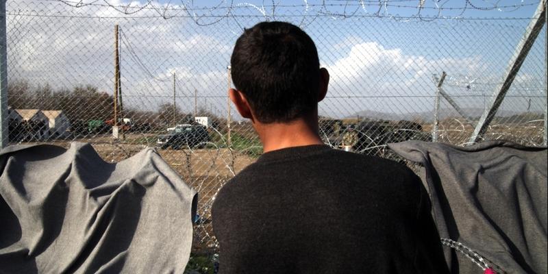 Grenzzaun zwischen Mazedonien und Griechenland - Foto: über dts Nachrichtenagentur
