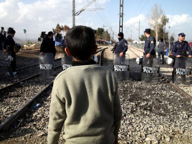 Flüchtlingsjunge in Griechenland - Foto: über dts Nachrichtenagentur