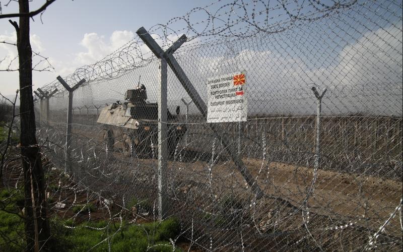 Grenze Mazedonien - Griechenland - Foto: über dts Nachrichtenagentur