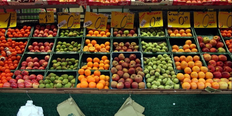 Früchte auf einem Obststand - Foto: über dts Nachrichtenagentur
