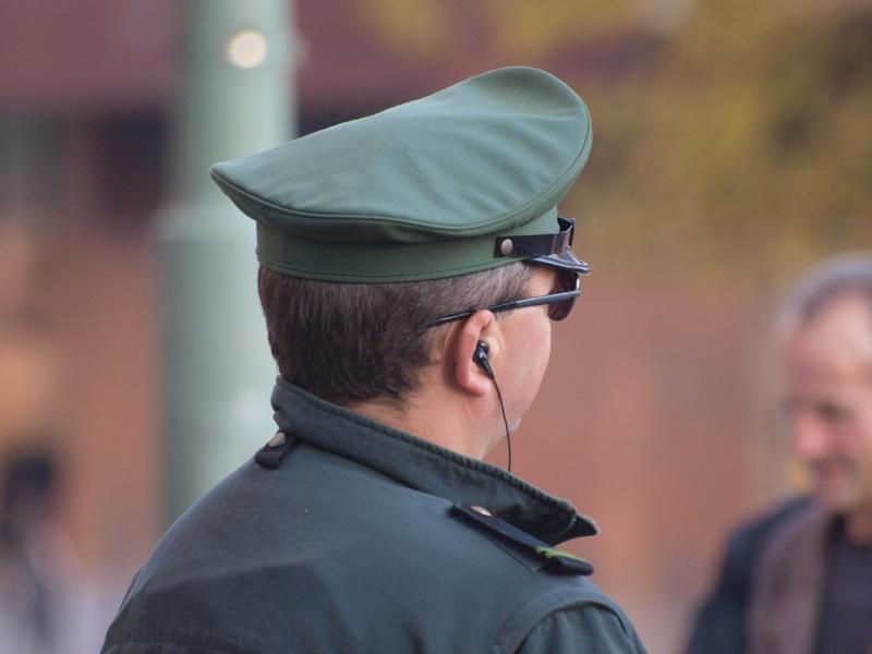 Polizist im Einsatz - Foto: über dts Nachrichtenagentur