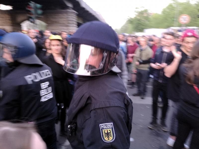 1.-Mai-Demo 2016 in Berlin - Foto: über dts Nachrichtenagentur
