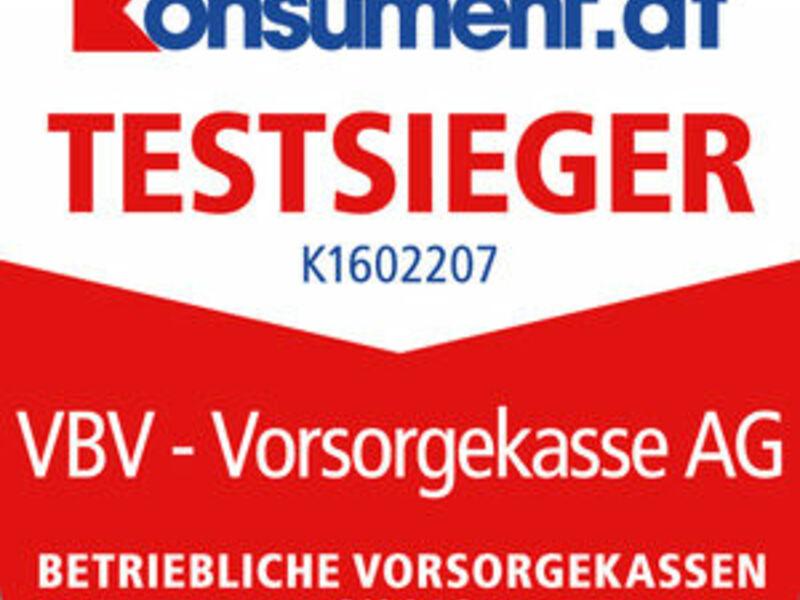Testsieger Betriebliche Vorsorgekassen - Foto: Konsument.at//VBV, pressetext.de