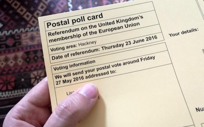 Wahlaufforderung für Brexit-Referendum - Foto: über dts Nachrichtenagentur