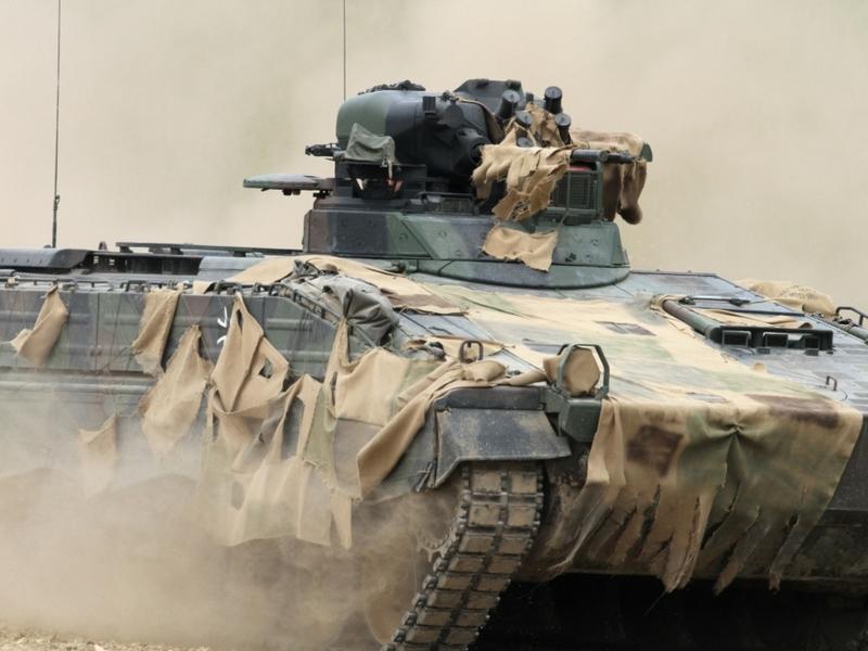 Bundeswehr-Panzer Marder - Foto: über dts Nachrichtenagentur