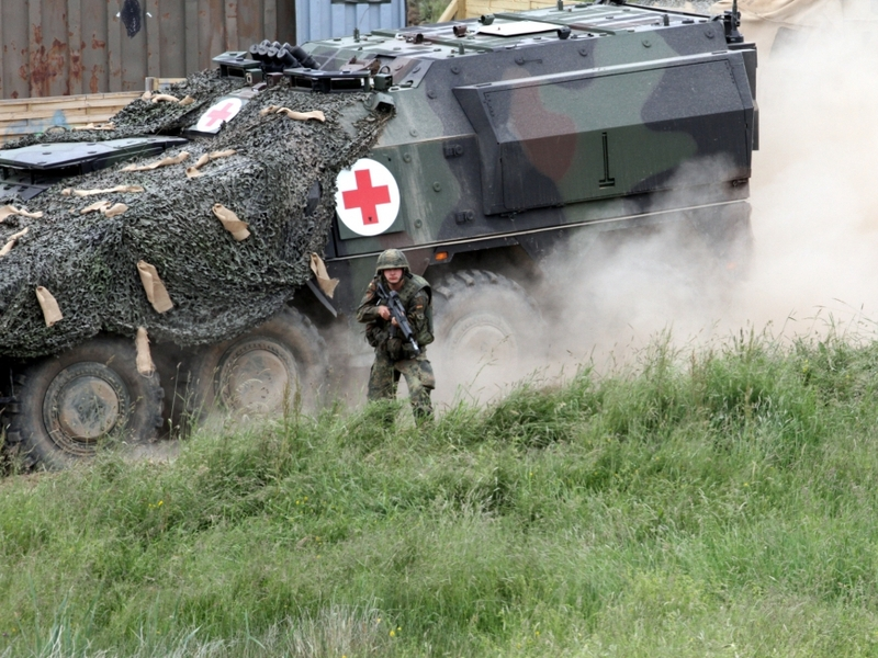 Bundeswehr-Sanitätspanzer - Foto: über dts Nachrichtenagentur