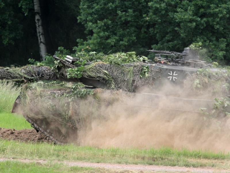 Bundeswehr-Panzer Leopard 2 - Foto: über dts Nachrichtenagentur