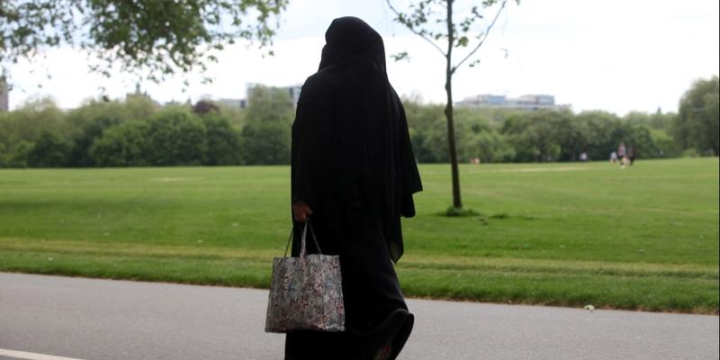 Frau mit Burka - Foto: über dts Nachrichtenagentur