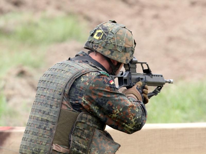 Bundeswehr-Soldat mit G36 - Foto: über dts Nachrichtenagentur
