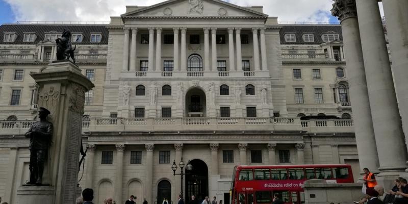 Bank of England im Finanzviertel von London - Foto: über dts Nachrichtenagentur